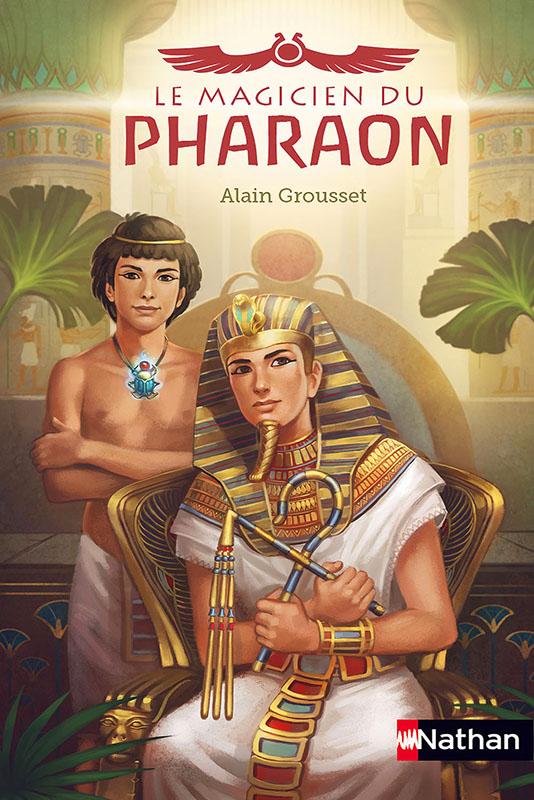 Magicien pharaon couverture