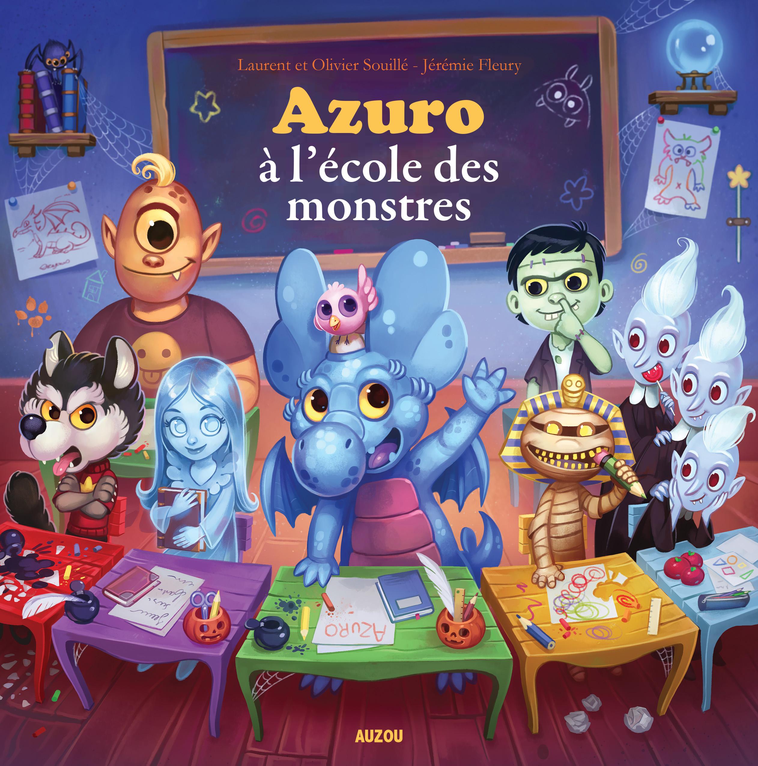 azuro-ecole-des-monstres-couverture