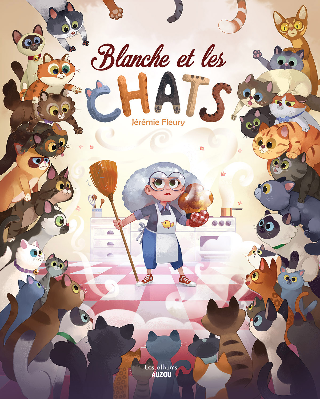 Blanche et les chats couverture