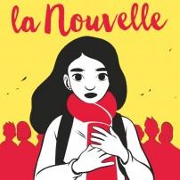 La Nouvelle - Réalisation de la couverture du prochain roman de Cassandra O'Donnell aux éditions Flammarion Jeunesse