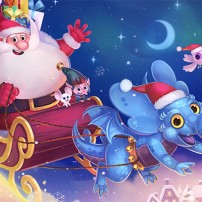 Azuro Tome 4 - et le défi du Père Noël