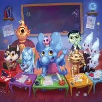 Azuro Tome 5 - à l'école des monstres